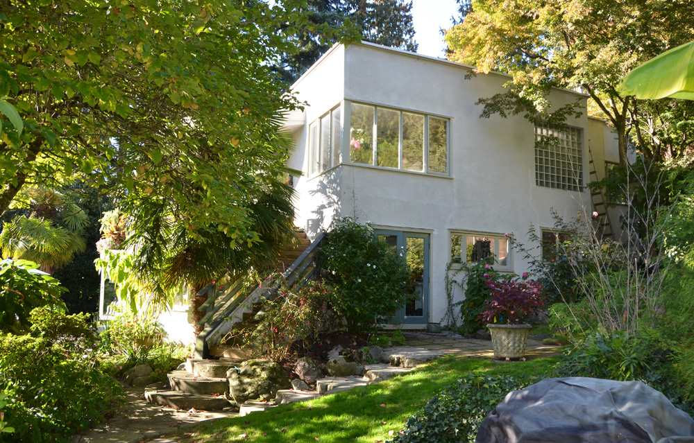 Stunning lot with one of Vancouver last remaining original Art Deco homes in Prime Altamont ! A renowned garden with rare and sought  after plants, 3 patios, fruit trees and a plentiful vegetable patch. Restore or remodel if you're up for a project or start from scratch and build your dream home. The possibilities are endless with this almost one half acre, gently sloping, south facing corner lot that offers partial ocean views. Plenty of room for your New Dream Home and Estate Garden. Own your own private estate and the lifestyle you've always wanted.