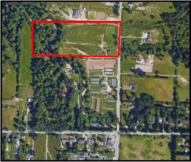 Wow! A 10 Acres ALR Land in Maple Ridge. The property is in rectangular shape, has approx. 434 Feet facing 224 St. This flat 10 Acres Land has approximately 8 Acres under RS-3 Zoning and 2 Acres under A-2 Zoning. North Alouette River across the back of the property. Quiet but convenient location, only 5 minutes drive from Central Maple Ridge, shopping center, and 8 minutes drive to Lougheed highway. An old timer house approx. 1000SF. Price is land value only, and ideal place to build your dream house and hobby farm. All measurements are approximate, must be verified by the Buyer. Call Now!