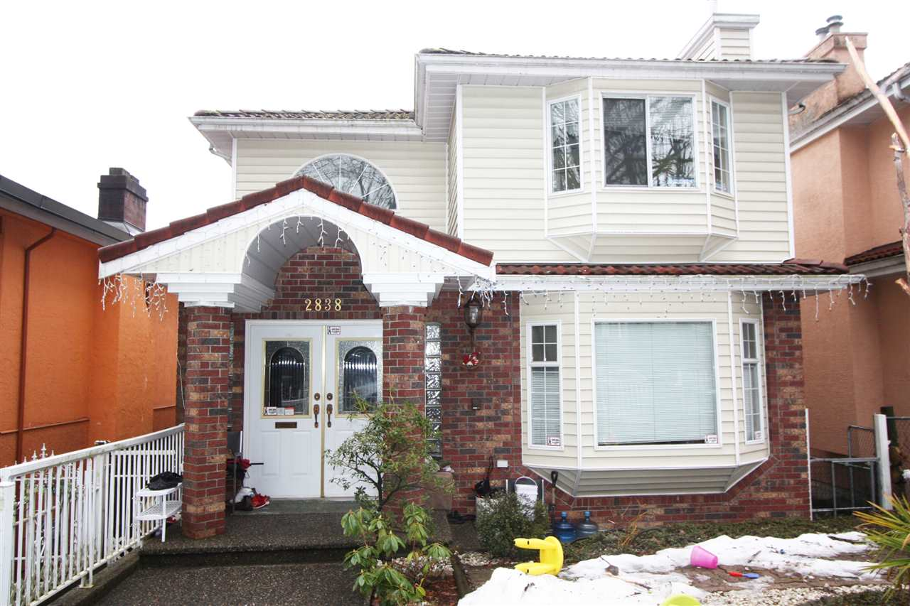Location! Location! Location! A well-developed area for living in now and later. 25-year house on a GOOD sized LOT, 33 x 128 (4,224 sqft). Close to Transit (2x Skytrain - Renfrew + Rupert Stations), shopping (Superstore, Walmart, Save-on-food..), restaurants (Boston Pizza...), Schools, renovation material stores. Practical to live with good number of decent sized rooms. As a bonus, it offers variety of ownership options: 1) a big family with 2+ generations to live together; 2) live in with rental as mortgage helper; 3) Full rental for investment income. 4) Hold for strong redevelopment potential.  Opportunity never last!
