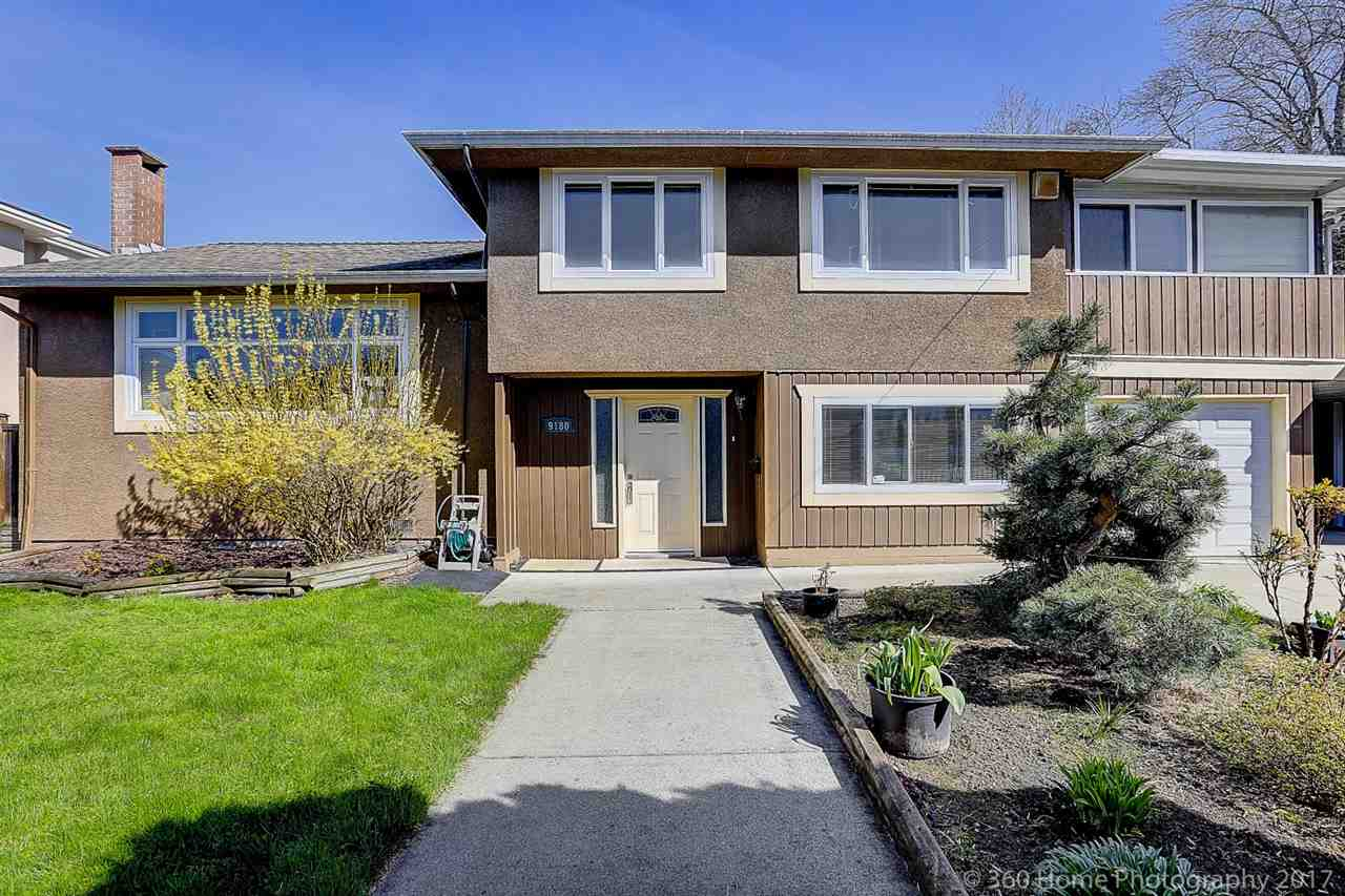 Very rare find beautiful big corner lot 8679 sqft (80x108'49) in Richmond west side Seafair area. Extensively updated in 2007 and carefully maintained with 2249 sqft of split level home, 4  bedrooms and 4 baths (2 ensuites), equiped with central air-conditioning. Updated kitchen and window and washroom (2007), 6 years old roof,3 years old hot water tank etc. Beautiful kitchen has a large work-island with top grade granite counter. A huge party size sun deck is perfect for summer BBQ. Hugh boyd Secondary and Dixson  Elementary catchment. Close to Seafair shopping mall and Dyke Trail. You can either hold or build your luxury dream house. Call today to book your private showing.