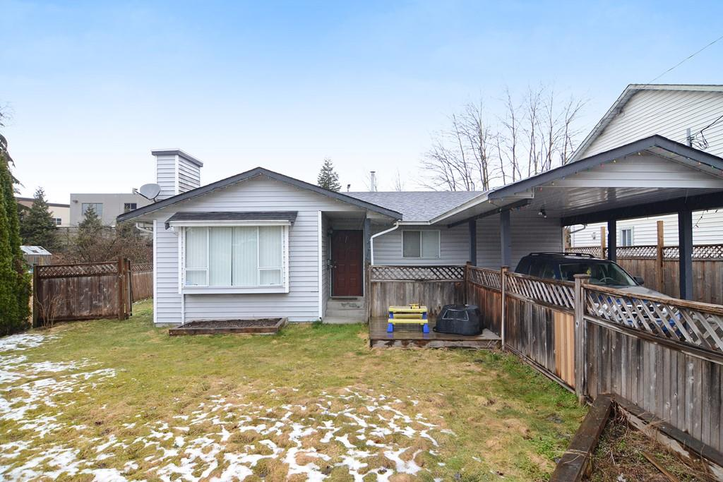 FIRST TIME BUYERS ALERT! Well kept 3 bedroom RANCHER in South Maple Ridge with a large fenced/private backyard and 2 storage out-buildings. Large front yard is fenced as well with tons of paved parking with privacy gate and carport. Close to schools, transportation, shopping, West Coast Express and Golden Ears Bridge. Open Houses: Sat & Sun, Mar 11th & 12th, 2-4 PM.