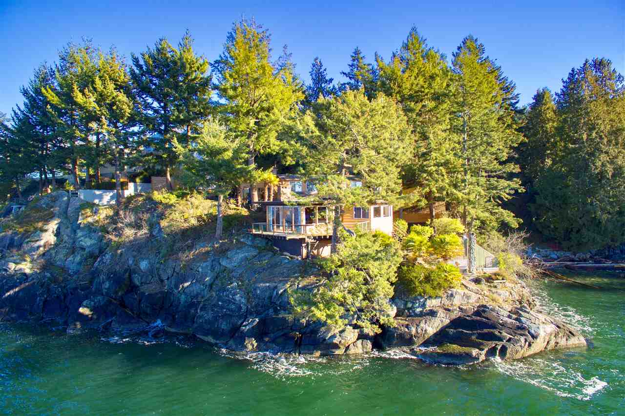 A rare opportunity to acquire this World Class .61 acre Waterfront Estate at INCREDIBLE VALUE! Offered well under Assessment, this gorgeous property features spectacular 180 degree ocean, mountain & coastline views. A dramatic West Coast setting peppered w/towering Douglas-firs, cedars & adjacent to Whytecliff Park. This PRIVATE POINT offers 350? of natural shoreline, year round sunset exposure, complete privacy, level gated entry, rock outcroppings & private beach. Mins to Caulfeild Village, Horseshoe Bay, Gleneagles Rec Centre & schools. The existing res is an original, custom built Post & Beam, w/comfortable living spaces opening out to stunning ocean views!�This oceanfront property is THE PREMIER BUILDING SITE in West Vancouver & is potentially sub-dividable! STRICTLY BY APPOINTMENT!