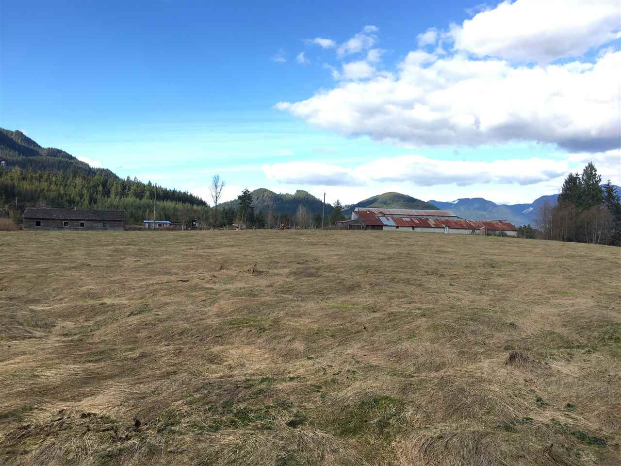 38.31 acres NOT IN ALR. Municipal water line through middle of property. 2 homes currently rented to excellent tenants. Land is all cleared and mostly flat, some slight rolling with 2 road frontages. Huge older barn as well. Excellent development property with close proximity to Maple Ridge.