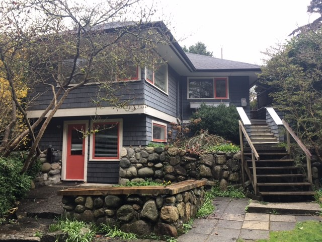 A livable character old timer home. One block away from West Vancouver High School in prime Ambleside location with 2 bdrm up & 2 bdrm down with newer roof on a beautiful and private back yard is ready to go. Call for more info.