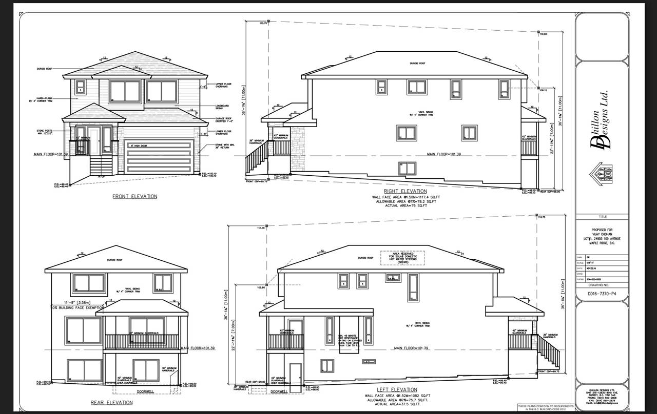 Custom Design Under construction, 3 level 3575 sq.ft. home. Spacious Foyer leads to Great room with gas fireplace and high ceiling. Impressive large kitchen and nook, white Quartz counters throughout the house. 4 piece En-suite and den on the main also. Upstairs 4 bedrooms and 3 bathrooms. Large master bedroom has a walk-in closet and 5 piece En-suite separate tub and shower. Convenience of Laundry room upstairs. Basement has a 1 bedroom Legal suite and bonus flex room for your own use. Walking distance to Samuel Robertson High school and Albion Elementary, Ready for September occupancy!! Pick your colours and flooring and customize this to your liking while you have the opportunity.