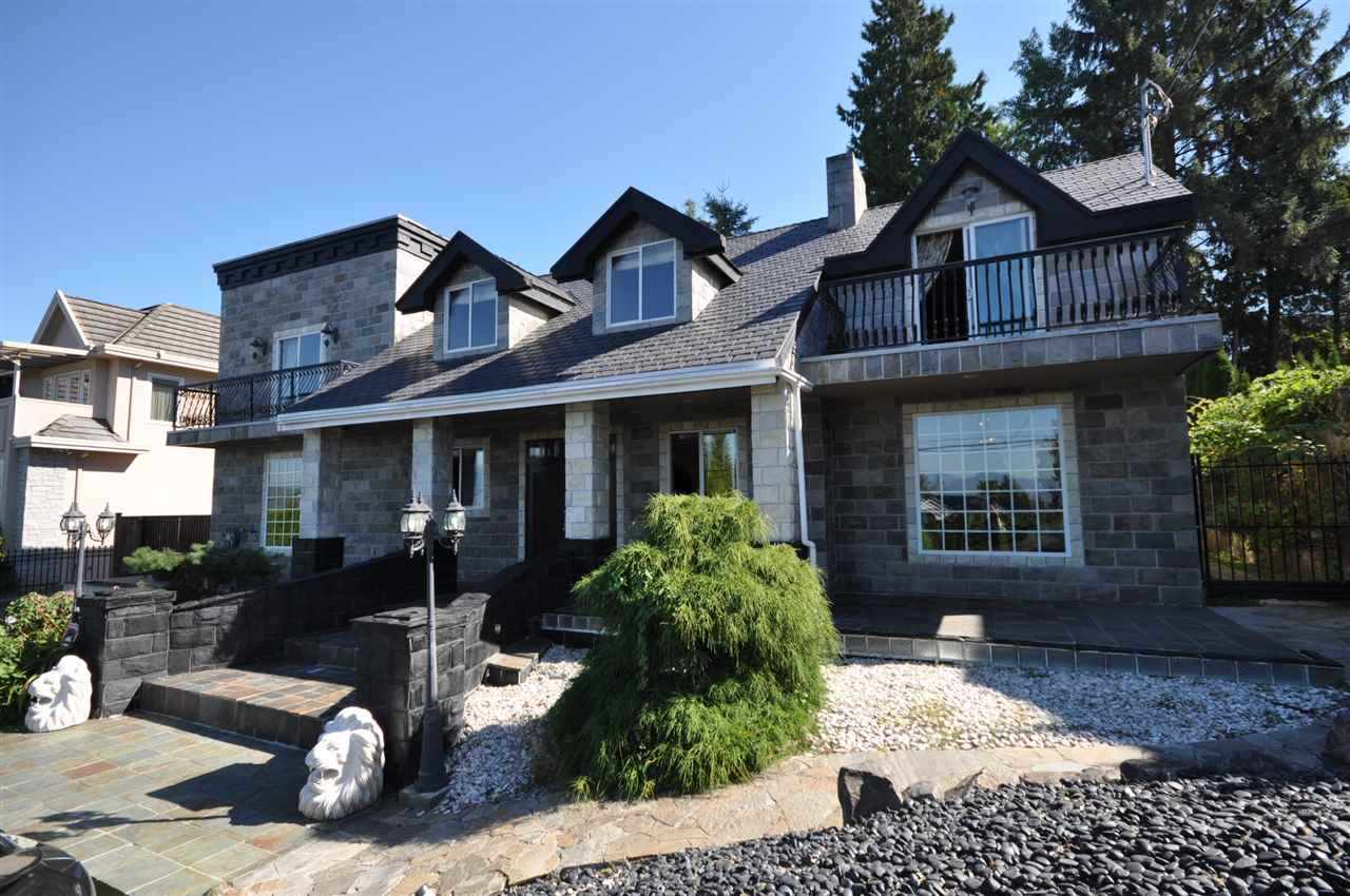 Incredible opportunity to buy in prestigious BUCKINGHAM HEIGHTS, Burnaby's favorite area! This 4000 SF 5 bedroom family home sits on a prime 80x123 lot, almost 10000 SF, R1 zoning, in well-ranked Buckingham Elementary & Burnaby Central Secondary catchment. Completely updated home has 5 spacious bedrooms plus a den upstairs, a main floor perfect for entertaining with a large living, dining & family room, a modern kitchen & eating area overlooking a tranquil back yard with waterfall, a double car garage, plus lots of extra parking. A special home in a very special neighborhood.