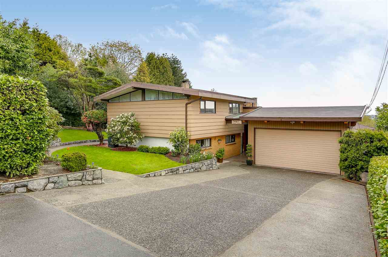 First time on the market since 1961! This one of a kind craftsman 60's home on an amazing 13000 SF lot is unique & a must see!. This home offers an extremely quiet Westridge-SFU location at the end of a cul-de-sac street with a privately hedged yard perched above the surrounding homes. This 6 bedroom 4 bathroom house is ready to move in as is or would make a beautiful building lot for a future dream home. Enjoy south views and plenty of sun off the south facing Sunroom, deck and flat rear yard. This home shows like a 10.