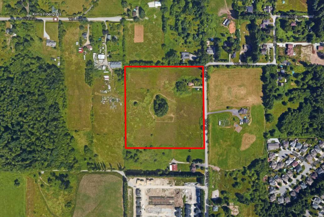 An excellent opportunity to own an 11.5 Acres Lot in Maple Ridge! A terrific investment potential. Totally flat and cleared lot with gorgeous mountain view. Close to golf course and Meadowridge private school. 23802 123 Ave (7.48 Acres) MLS: R2163047 and 12250 237 St (9.599 Acres) MLS: R2166104 across the street are also available for sale.