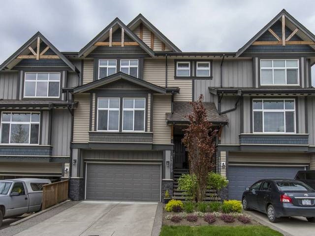 """Welcome home to STONELEIGH, by award winning Portrait Homes and loc in tranquil Silver Ridge. Here is your golden opportunity to own a """"Detached"""" rowhome (no strata fees) at an affordable price. This area feels like Whistler and it offers an abundance of walking trails and nature at your doorstep. Pride of ownership is evident when you step inside. This home feat an open layout with a cozy rock fp in the living rm, a gourmet kitchen, compl with a gas range, stainless appl, granite counters & a long bar where you can watch the """"chef"""" at work. Enjoy summer evenings sitting on your large patio surrounded by a lush zen-like garden of exotic plants. There is even a gas hookup for your barbie. There is also a den/office on the main and a 2 pce powder rm plus 3 good sized bdrms up and 2 baths.  Come by the Open, Sat, 2-4 & view your new home or call for an appt."""