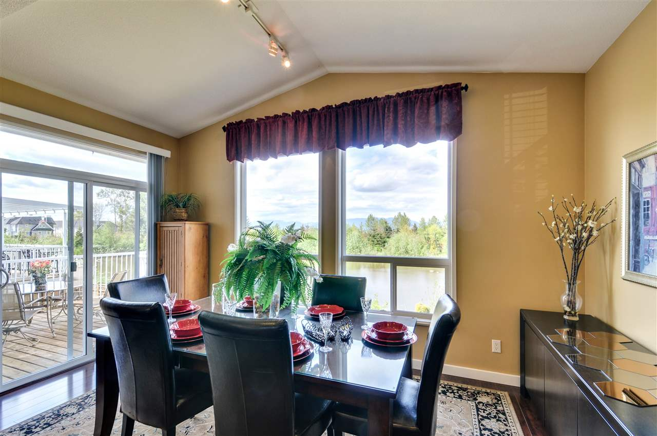 """Dining Room 15'4"""" x 7'8"""" dine together with nature just outside your window"""