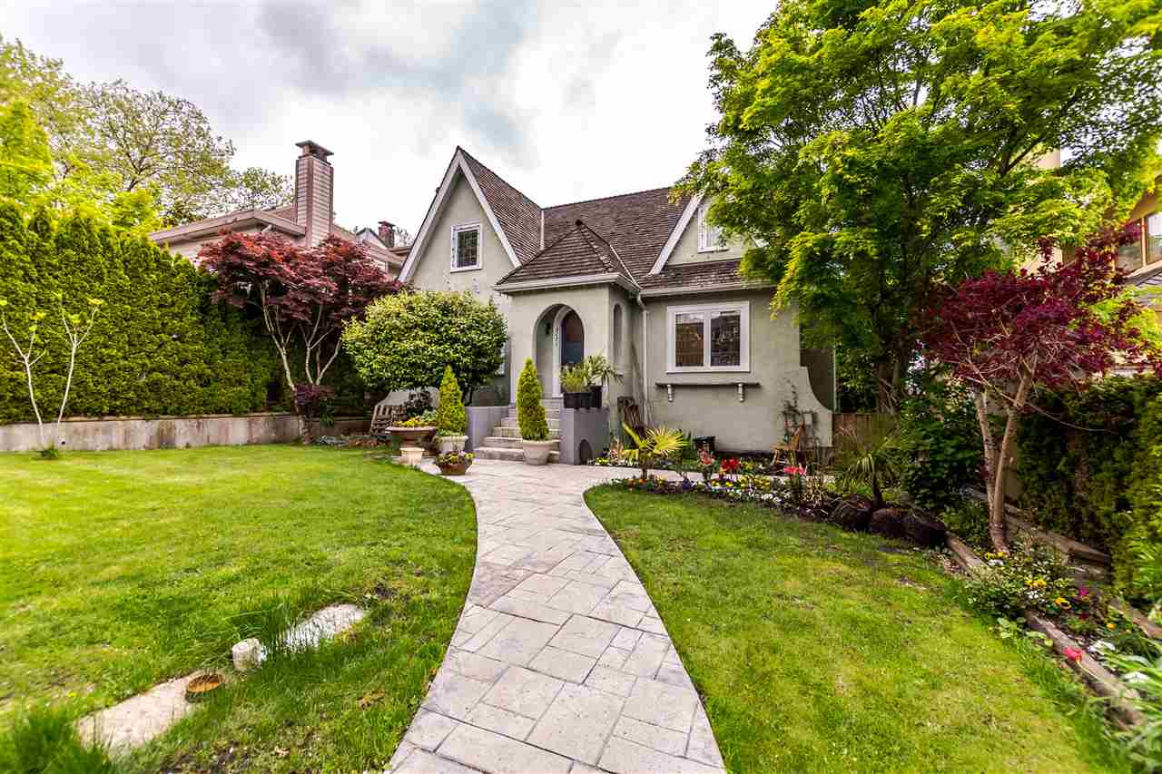 Fantastic northern views property in a highly desirable Dunbar area. Private and quiet neighborhood in the great school cathments.  5 min walk to Lord Kitchener Elementary, close to main bus routes, near Arbutus shopping centre, within a short drive to Downtown & UBC. Main floor of the house shows Downtown skyline, NS mountains, a part of English Bay and Stanley Park. The basement has 2 finished suites, each has a separate entry, 3 piece bath, kitchen, in-suite laundry and a gas fireplace. Partially built laneway house with a possibility for a garage and a suite. Great property to hold or redevelop on the Westside of Vancouver. Please respect the sellers, do not walk on property, call agent instead.
