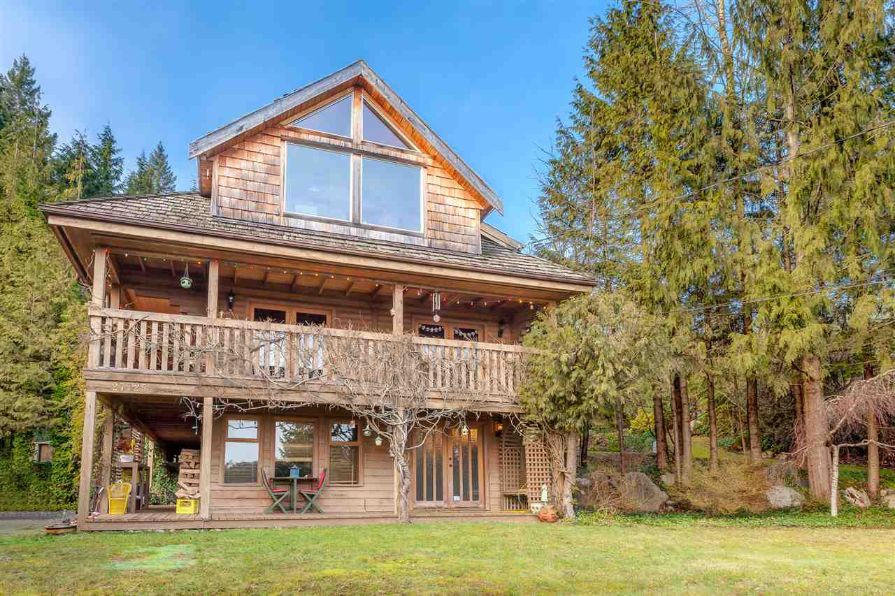 Stunning views of Mount Baker await, this 3384 Square foot house sits on just over 1 acre in Northeast Maple Ridge, features 5 bedrooms, 3 bathrooms, sun room off Master Bedroom, all wood floors, lots of outdoor deck space to enjoy the view, very private. Call Today