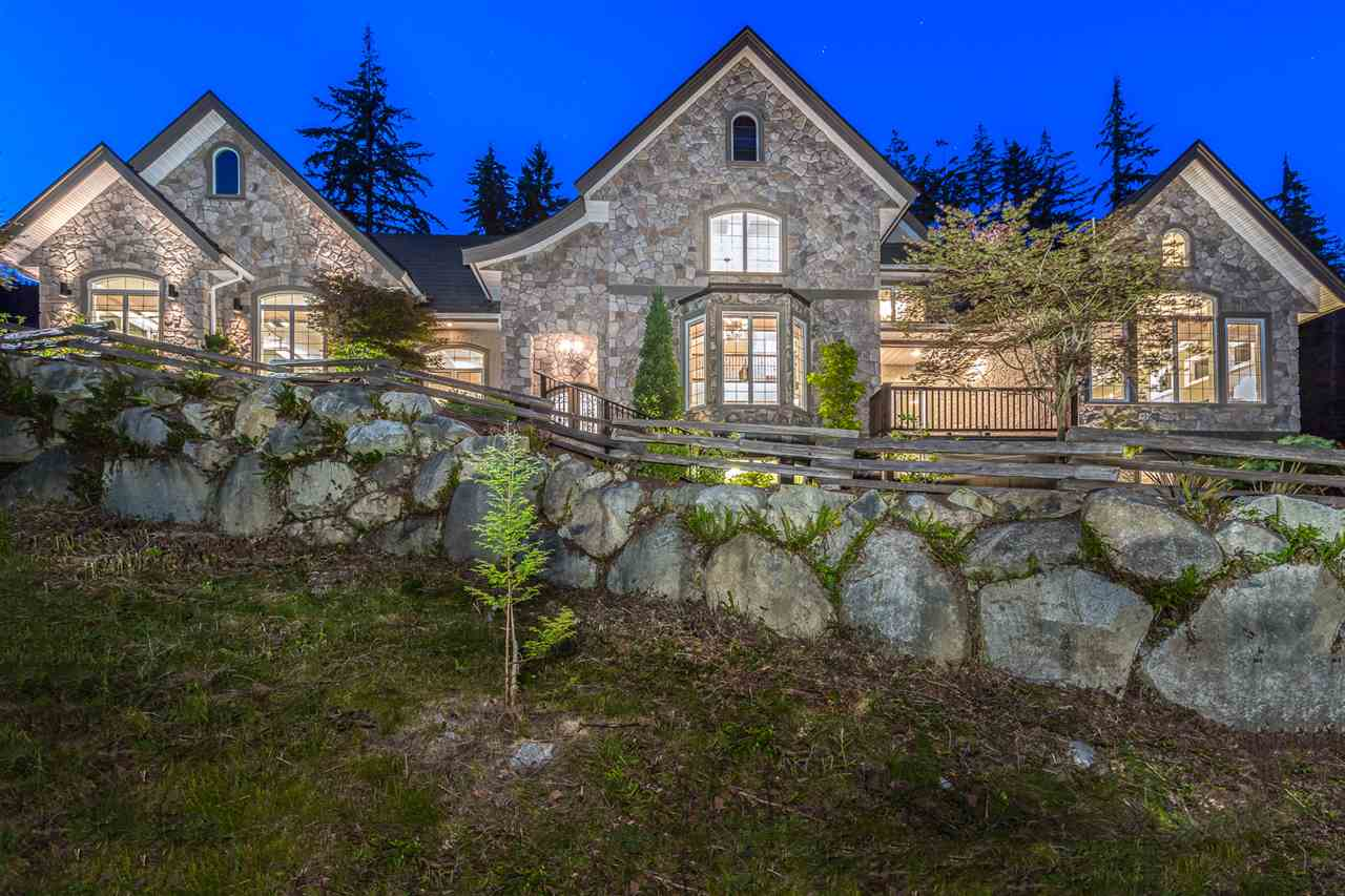 This breathtaking custom built home offers 5520 SF of living, 5 Bdrm/4 Bath smart home w Control4 home automation on 1.174 acres.  Situated in one of the sunniest lots in Anmore, this home gets full sun all day. Walk through the beautiful custom front doors into the impressive foyer w an open floor plan. So many features & upgrades; coffered & vaulted ceilings, Viking Prof Series gas range & d/washer, Bosch 3 door fridge, granite & marble surfaces, upgraded lighting, remodelled garage w built-ins & a large deck to take in the beauty of your surroundings. All of this available in beautiful Anmore, steps to beaches, hiking trails & a short drive to downtown Vancouver. Quick access to West Coast Express & Evergreen line. Click on Virtual Tour Link for fantastic marketing video.