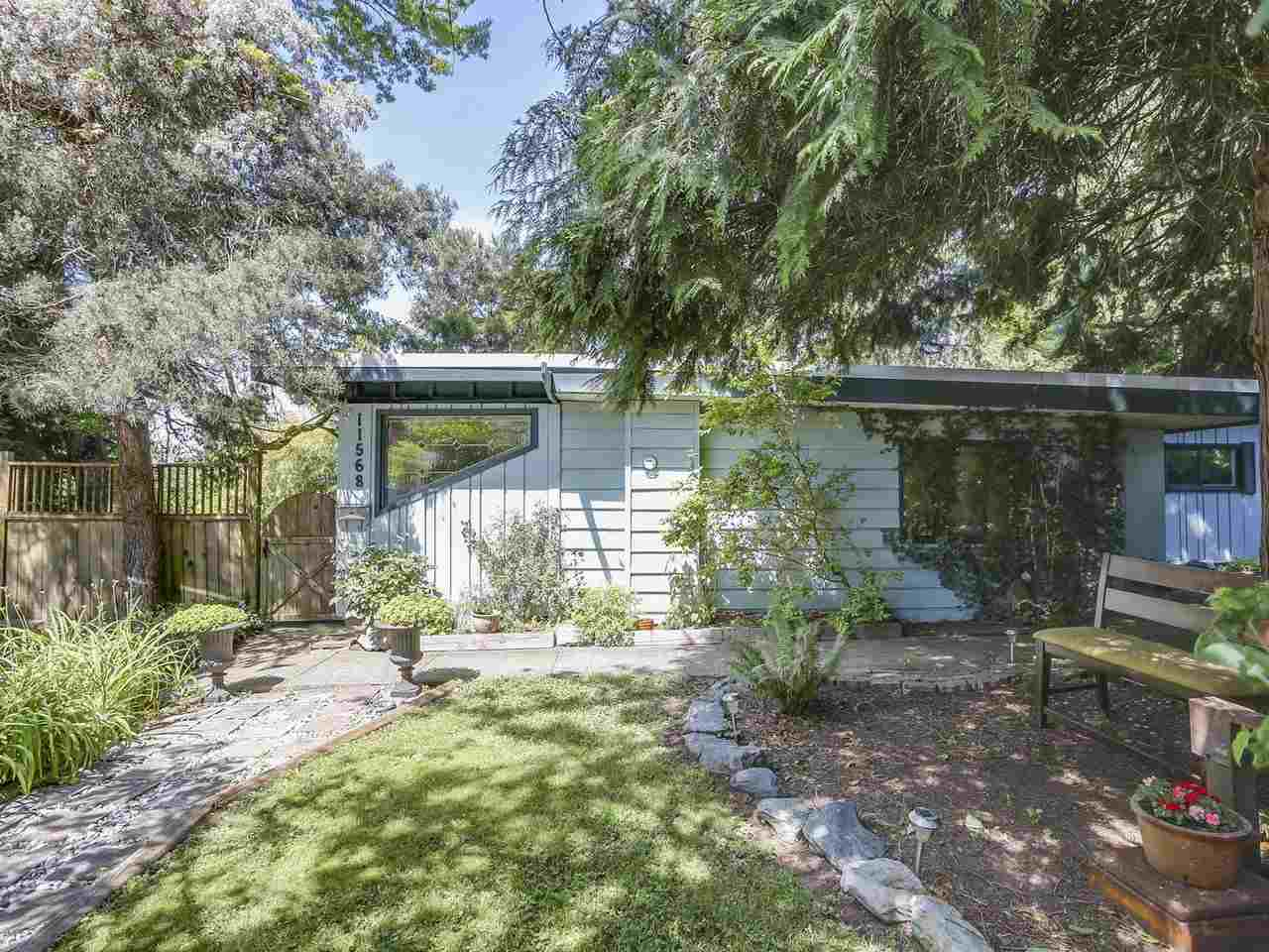 INVESTOR ALERT or UNIQUE FAMILY HOME! City of Delta says it is potentially sub-dividable. 3 Bdrm rancher with a bonus of 1 bdrm bungalow (guest house) in a very nice & quiet area. Stunning 1/3 acre park-like back yard lovingly built over time. Pride of ownership is in everything this property has to offer. Five minutes to Alex Fraser Bridge. Close to shopping and schools.