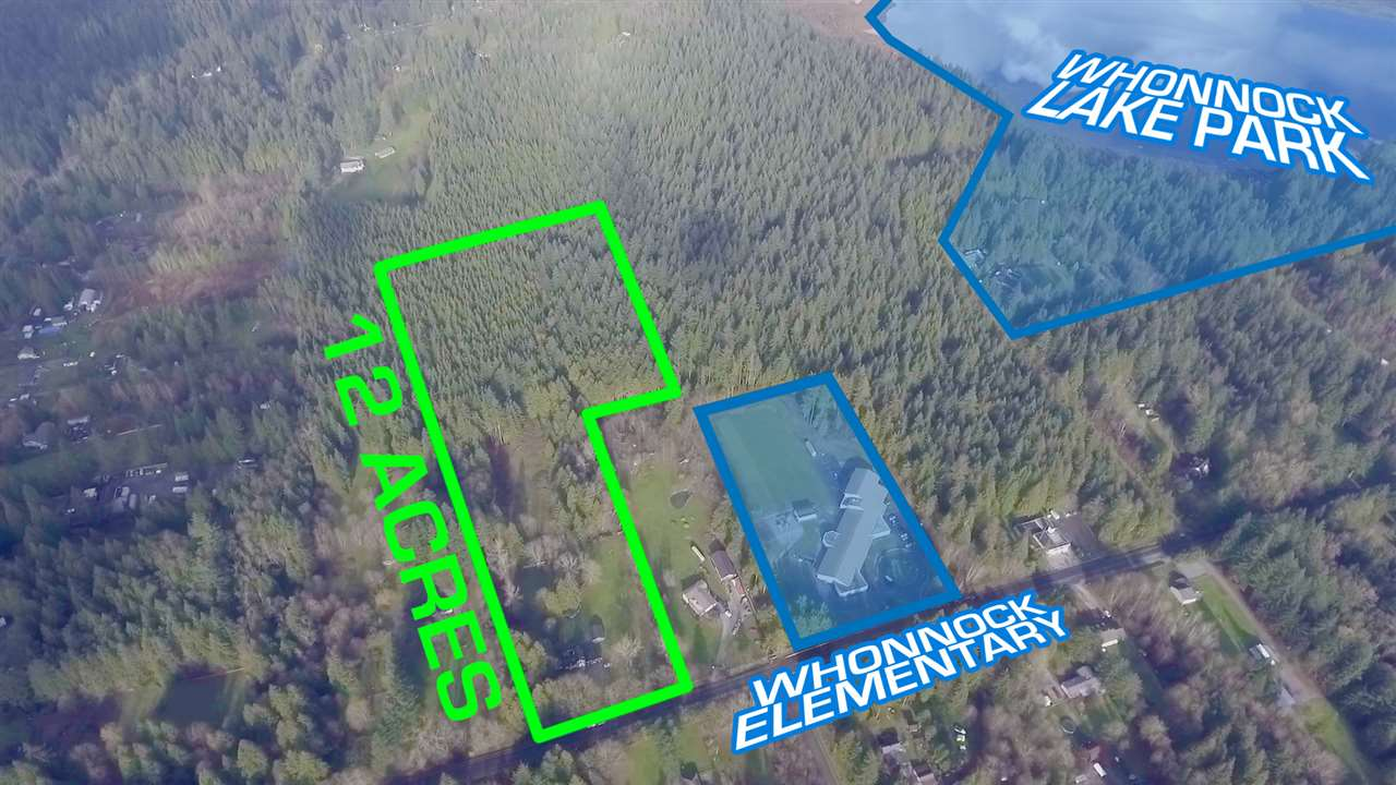 PRICED WELL BELOW 2018 ASSESSMENT!!! Enjoy the luxury of just under 12 acres priced at only $107,692.00 per acre! Within walking distance to Whonnock Elementrary and Whonnock Lake Centre. Meandering creeks separate the house and detached guest suite (569 sqft) in front, from the shop/barn (2726 sqft with pwr/water/insulation/ventilation) which is set back next to a beautiful naturally fed pond creating a very tranquil setting. The home boasts new windows, hardwood flooring, fresh paint and newer appliances. This property may have timber value, a large portion heavily treed with sizeable Douglas Fir, Cedar and Hemlock. Bring your ideas and ambitions... make this property your private paradise!