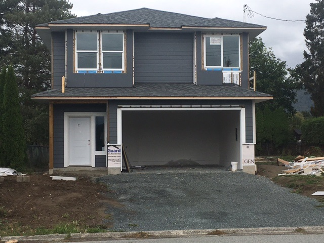 NEW BUILD! Great, quiet location for this brand new basement entry home in Sardis. Over 2,394 total sq ft; 1,729 sq ft finished with another 665 sq ft waiting for your ideas. Features include 3 bedrooms, 2 baths, quartz counters, engineered hardwood flooring & master bedroom has walk-in closet and ensuite with tiled shower. Great opportunity to pick your colours.