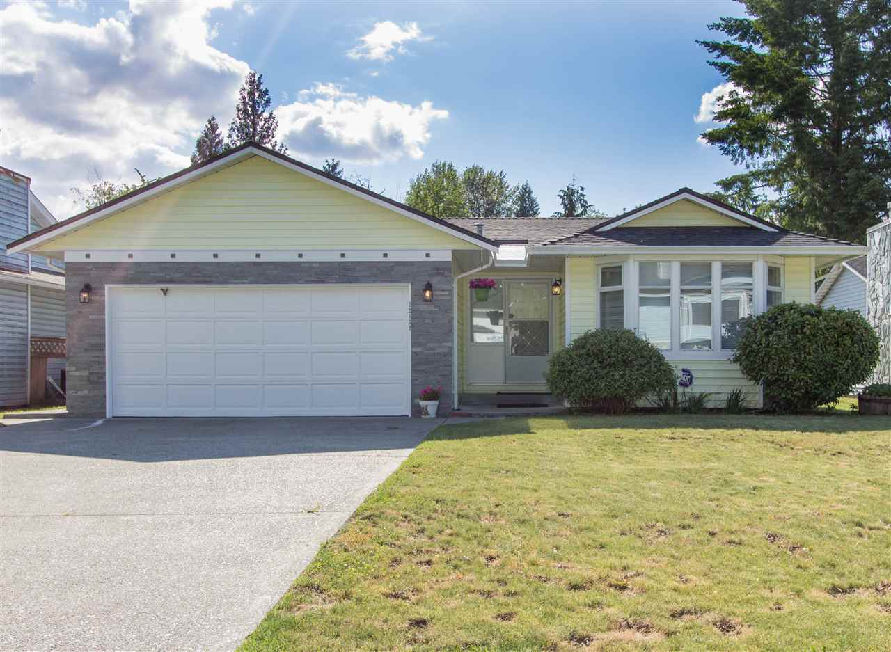 Wow! One level living at its finest. This BIG RANCHER with great layout and generous room sizes offers a quiet, ultra convenient West side location and SIGNIFICANT RENOVATIONS throughout. All new island kitchen- cabinets, quartz counters, tile floor, backsplash & fixtures- opened up to family room with fireplace. Two all new full baths including spectacular ensuite! Huge living room with bay window & solid oak flooring that flows through dining room, hall & bedrooms. Custom lighting, ledge stone, fresh paint, trim & fixtures. Shows like a dream inside and out! Double garage + driveway. Fenced 6939 sqft lot with sunny West exposed back yard is a GARDENER'S DELIGHT! Covered patio with awning out back. Easy walk to shopping, W/C Express, transit & schools K-12. OPEN HOUSE SAT JUNE 17 3-5 PM.