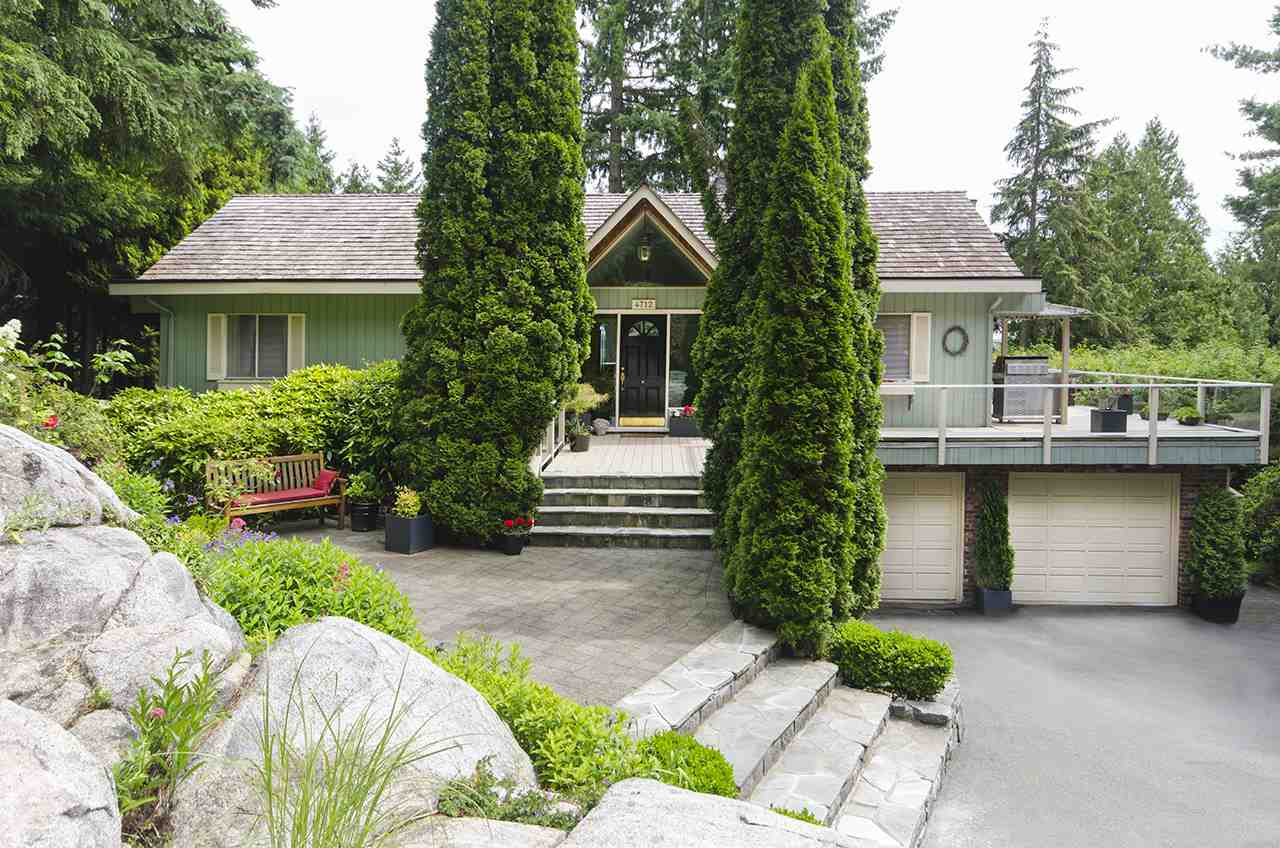 Sought after 2 level view home in Caulfeild.  Well maintained family house situated on a 19,547 sq. ft. gently sloping property.  Large windows in the principal rooms allow lots of natural light. A large deck wraps around the South and West side of the main floor. The very private backyard is fantastic for relaxing or entertaining with the beautiful inground pool.  Three bedrooms located on the main floor with two more bedrooms below. The downstairs has a huge recreation room with easy access to the pool.  Close to Caulfeild Elementary, Rockridge High School and Caulfeild Village!