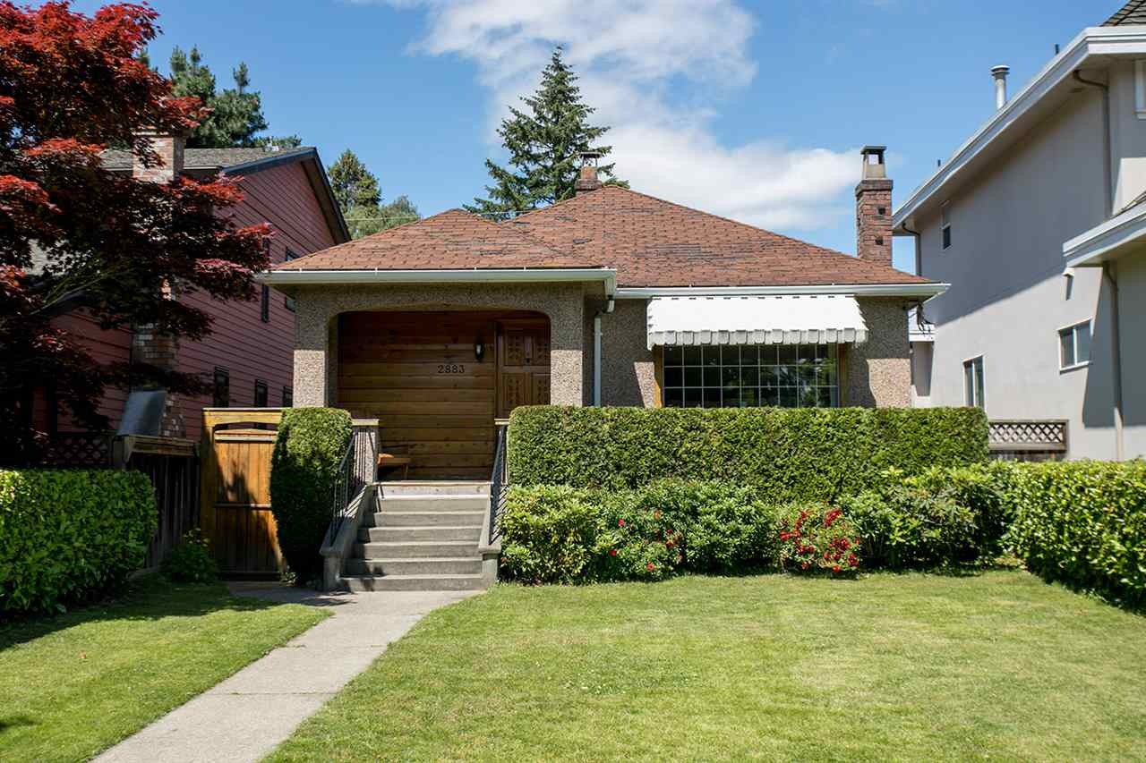 The perfect block on the perfect street in superb Kerrisdale locale! This lovingly maintained, 2 level & 2 bdrm happy home is ready for your creativity ? situated on a flat 33 x 134.80 ft lot. Ideal property to hold, renovate or build your dream home. Main offers living rm w/gas f/p, charming kitchen w/eating area, sun rm w/bright sundeck & hot tub + 2 good-sized bdrms & 4 pc bath. Lower level: big rec rm, office, 2 pc bath, laundry & sep entry. Enjoy relaxing & gardening in your large, fully-fenced N-facing yard. Double car garage. RS-5 zoning w/laneway potential on a private, no-exit lane. Local amenities incl. Kerrisdale Community Centre, parks, restaurants, shops & transit along W 41st & W Blvd. Great schools: Kerrisdale Elem., Point Grey Sec., St. George?s, Crofton & UBC.