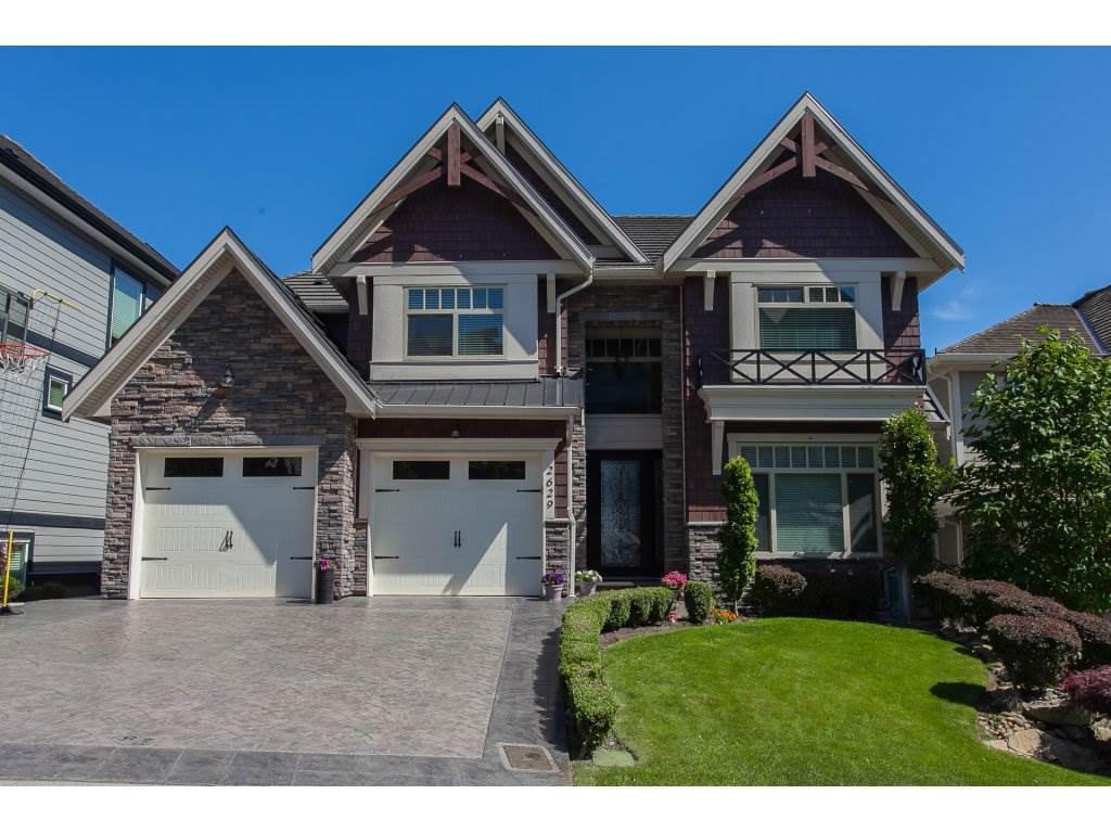 Prestigious Eagle Mountain 4 bedroom family home. Spectacular MOUNT BAKER VIEWS from all levels. Quality custom built. Main floor features beautiful maple hardwood floors, granite counter tops in the kitchen. Maple cabinets, open kitchen & great room, formal dining room/parlor, butler's pantry, den with a view, master bedroom upstairs. Basement offers entertaining & wet bar. Media room, guest bedroom, wine room, storage room. Outdoor covered deck to enjoy the views! Eagle Mountain Park just down the street with play area, tennis court & walking path. A life-style all in this City of Abbotsford in the country.