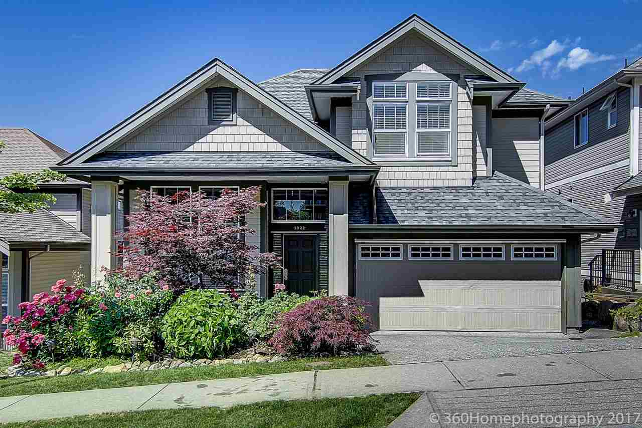 Welcome home! Foxridge 3 level plan, full walk-out basement. This immaculate 5 bedroom, 3 & 1/2 bathroom located in the quiet neighbourhood. Best location of Burke Mountain, minutes to Coquitlam Centre, parks, Evergreen Line Station and bus stops. Very well cared. Fully finished basement, top-of-the-line appliances & much more. Hurry on this, it won't last long. OPEN HOUSES: SUN, Oct 1, 2:00 PM-4:00 PM SUN.