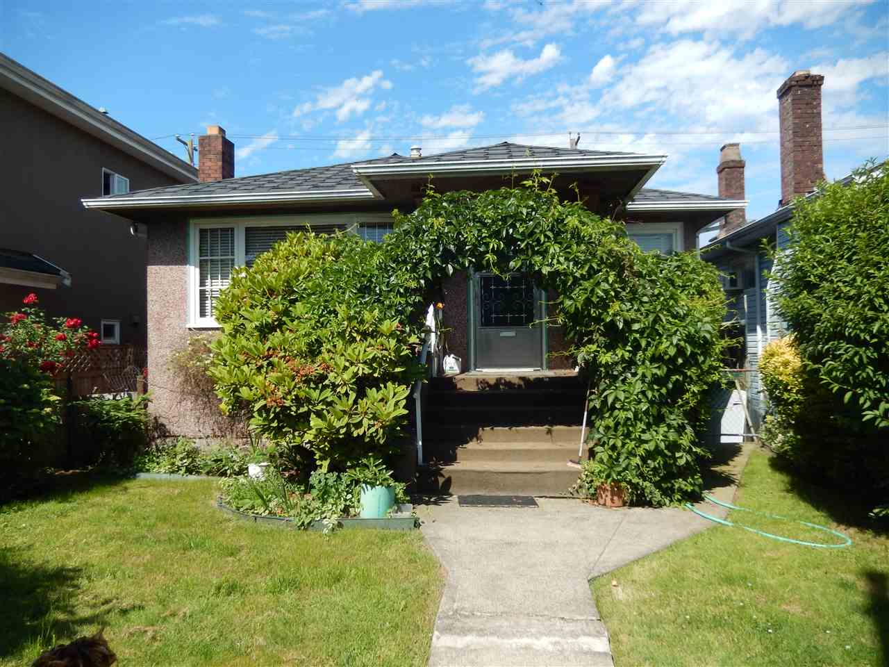 LIVE IN. INVEST. HOLD. Excellent opportunity in prime Main Street location. Solid 2 bedroom with 1 bedroom suite. RT2 Zoning. Walking distance to Langara College, on UBC bus route. All amenities steps away. Ideal investment on all levels. Quick possession possible.