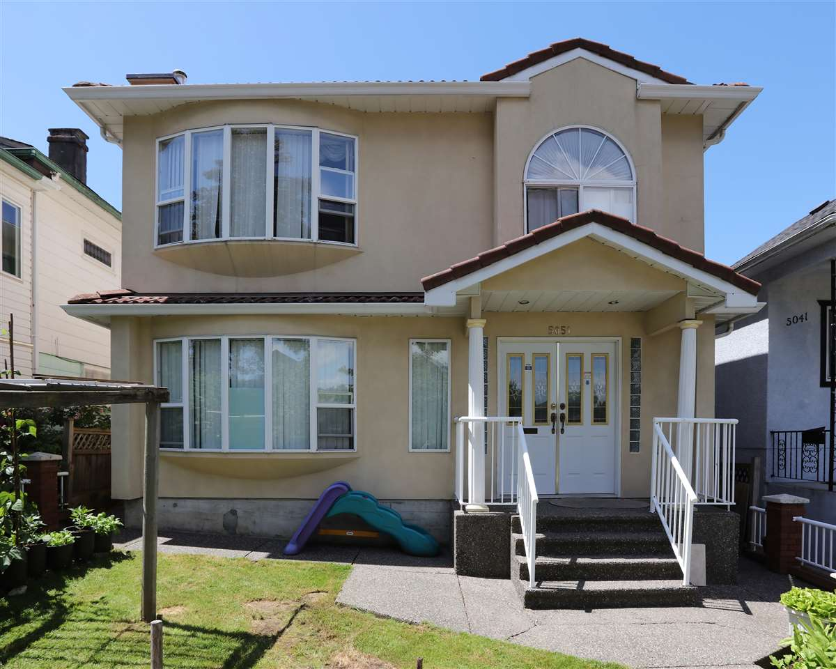 1st time Buyer alert! Most desirable family home located in center of Vancouver. 3 bedrooms up. Functional layout with lots of light, good size living space and bright kitchen. Legal 2 bedrooms suite as a great mortgage helper. 1 bedroom suite with separated entrance perfect for grannies. Mackenzie Elementary / John Oliver Secondary catchment. Minutes drive to QE Park, Oakridge Center, YMCA and Langara College. Easy access to Downtown and Richmond, short walk to transit. Bonus: view of city / north shore mountain. Call for details and book your private showing today! All measurements are approximate, buyers to verify if deemed important.