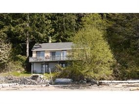 The spacious two bedroom two bathroom rustic vacation cabin sits on 577 ft of waterfront & 13.86 acres of private land. There is a south facing low level beach great for swimming. The property has its own well for running water & electricity. The property also comes with a float for boat moorage. Located on Gambier Island west of the New Brighton public dock with great views of Keats Island and the Langdale Ferry terminal.