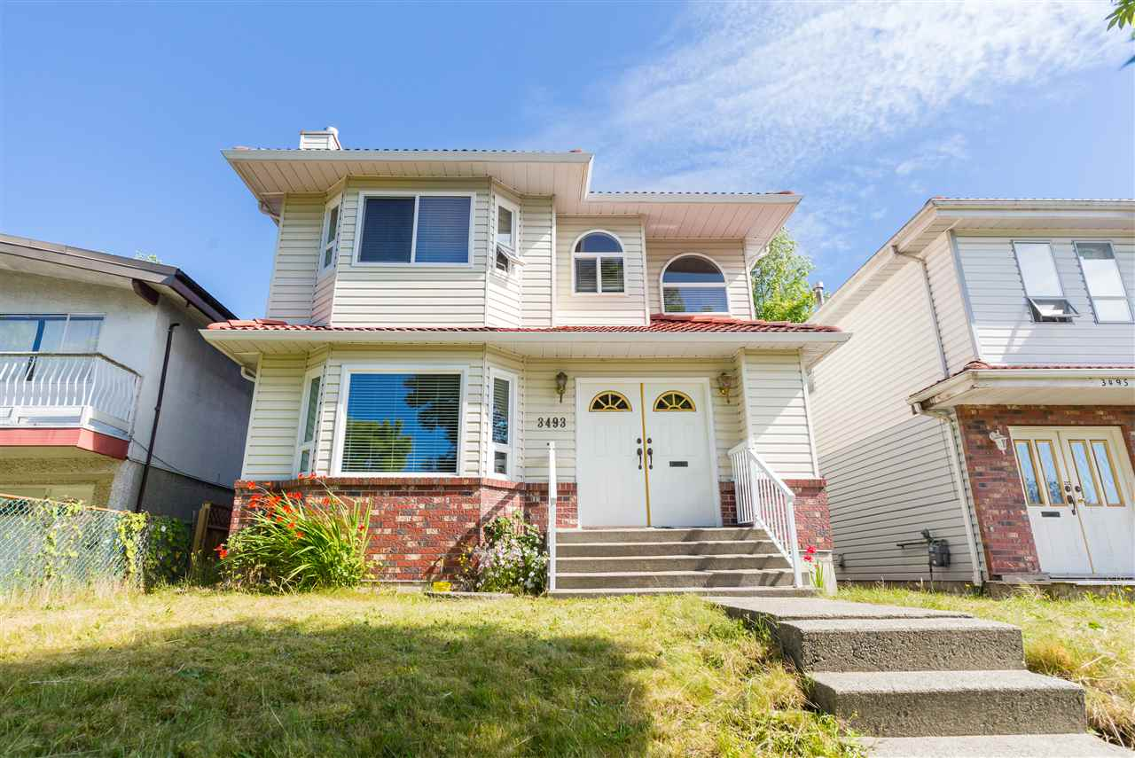 Welcome to East Vancouver! This WELL-MAINTAINED 4 Bed + 3.5 Bath home located on a 33? x 110? lot features recent upgrades including updated laminate flooring, windows, blinds, sliding patio doors, fence & freshly painted interior walls. Hot water tank replaced in 2007. Roof and exterior cleaned this year! Great, central location in the Renfrew neighboUrhood. Close to public transit, Bosa Foods, various parks. Easy access to Burnaby, North Vancouver, and Downtown Vancouver. School catchments: Sir John Franklin Elementary & Templeton Secondary. This home has lots to offer! Call today for more information.