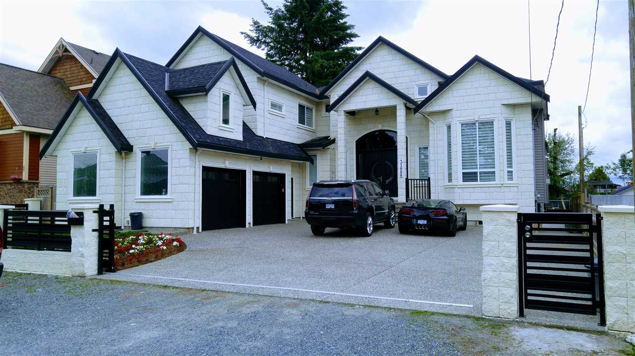 NEW ON THE MARKET!!! 31888- house address, lucky #number for you? This Spectacular Spacious Custom Home boasts 9 bedrooms & 8 bathrooms with a LEGAL suite. Main kitchen has a separate spice kitchen to keep the home looking fresh & clean. Very close to schools, churches, shopping, and parks. Easy Access to Highway #1. Theatre Room and Bar for entertainment, and has area for gym. Backyard is fenced off and has Huge Patio's. Great for bbq's with a nice view of the park. Must be seen to be fully appreciated! 2 mortgage helpers-LEGAL- 1 bedroom suite is vacant, 2 bedroom suite rented out for $800.