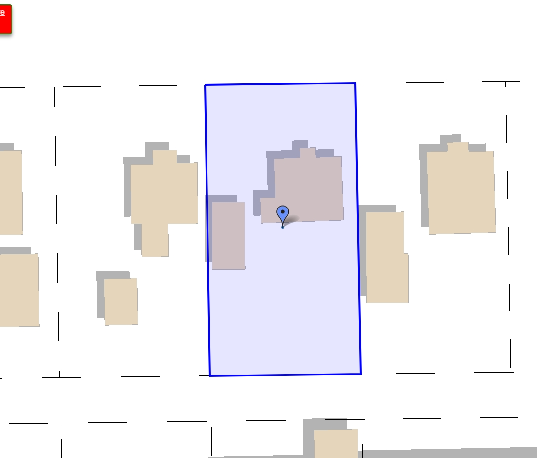 POTENTIAL...2 Lots Split Zoning in place. The value is in land only which is 66X127 lot with a back lane access.
