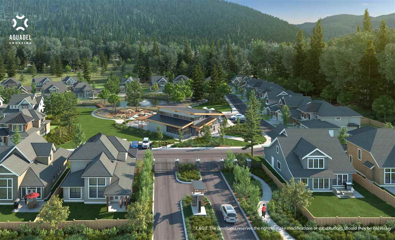 """Premiere release of Aquadel Crossing, an exclusive resort lifestyle community located on the beautiful south end of Cultus Lake at Lindell Beach! Built by Cressman Homes Ltd. and graciously appointed feat. gourmet kitchen w/soft close """"shaker-style"""" cabinets, quartz countertops, island, undermount sink and stainless steel appliances. Oversized 42"""" gas fireplace with remote. 3 bathrooms including luxurious 5 pc ensuite with double vanities. 2 bedrooms + den & loft, large master, great room spanning both stories, covered front porch and back patio with n/gas outlet, fully fenced, landscaped and more!"""