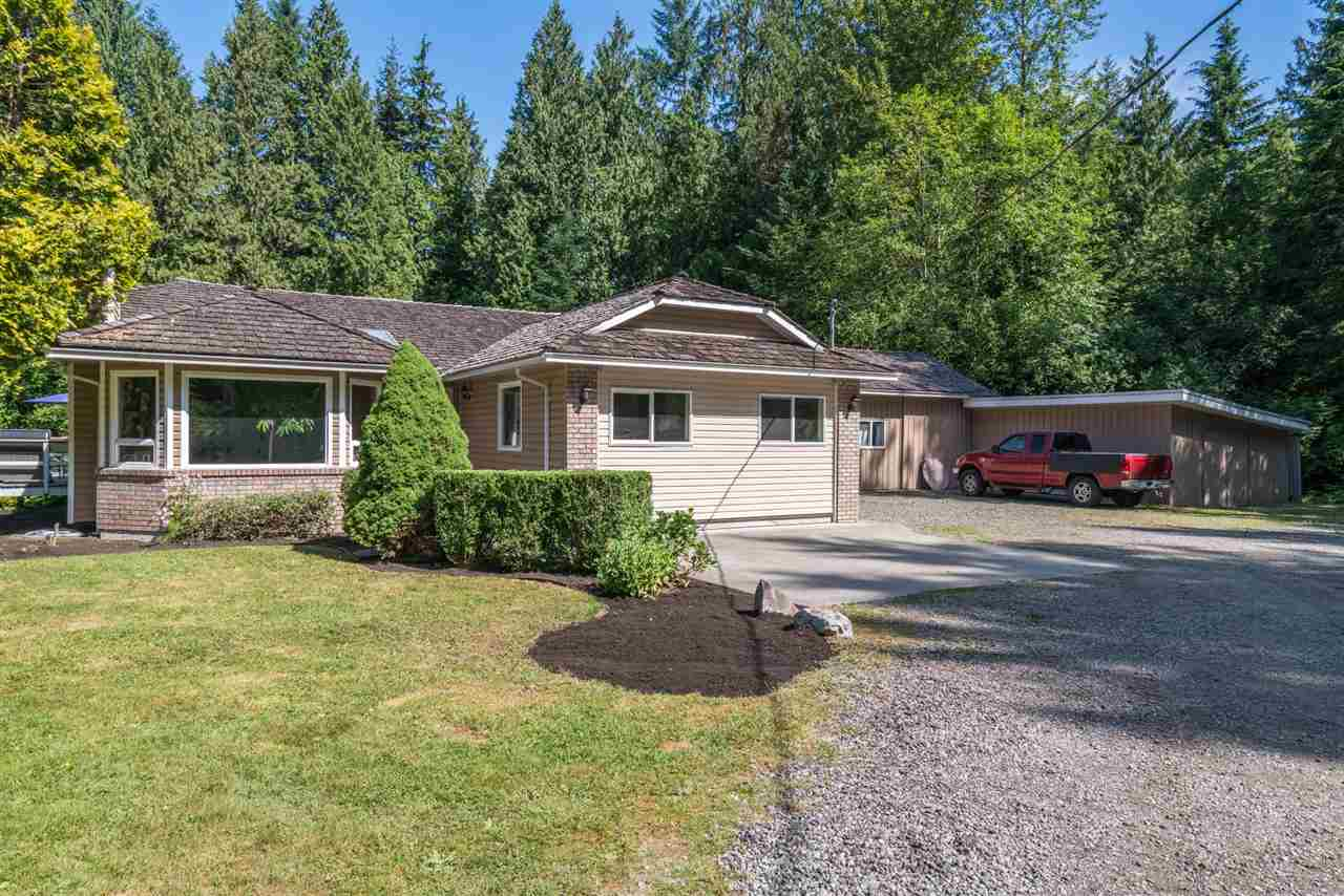 RURAL LIVING offering peace AND privacy....long, private drive brings you to this 4 bedroom, 2.5 bath rancher set on 5 acres.  Home has been renovated, with vinyl windows, new furnace and new 200 amp panel. Master bedroom has a LARGE walk in closet.
