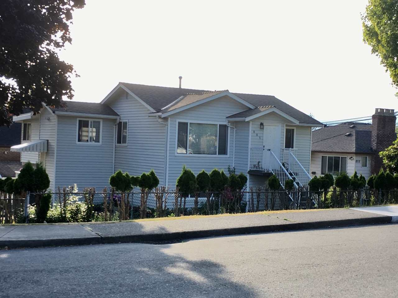 Investment opportunity alert! Corner lot 6160 Sq. Ft. Remodeled two level home, 2 bedroom up & 1 down. Family Room/ Solarium with top quality cedar finishing. House raised in 1971. House added onto in 1984. Renovate now or hold and build later. This home sits on one of the best and quiet streets in the heights. Close to transit, Brentwood mall and supermarket.