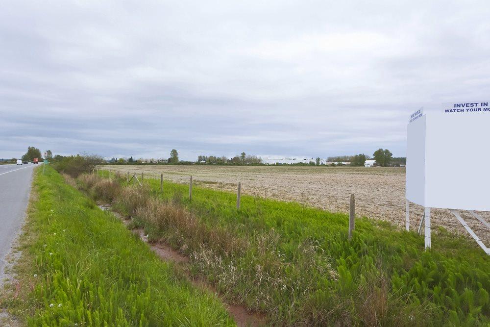 Prime farmland in high profile location. 28.59 acre parcel. ALR designated. A1 zoning.