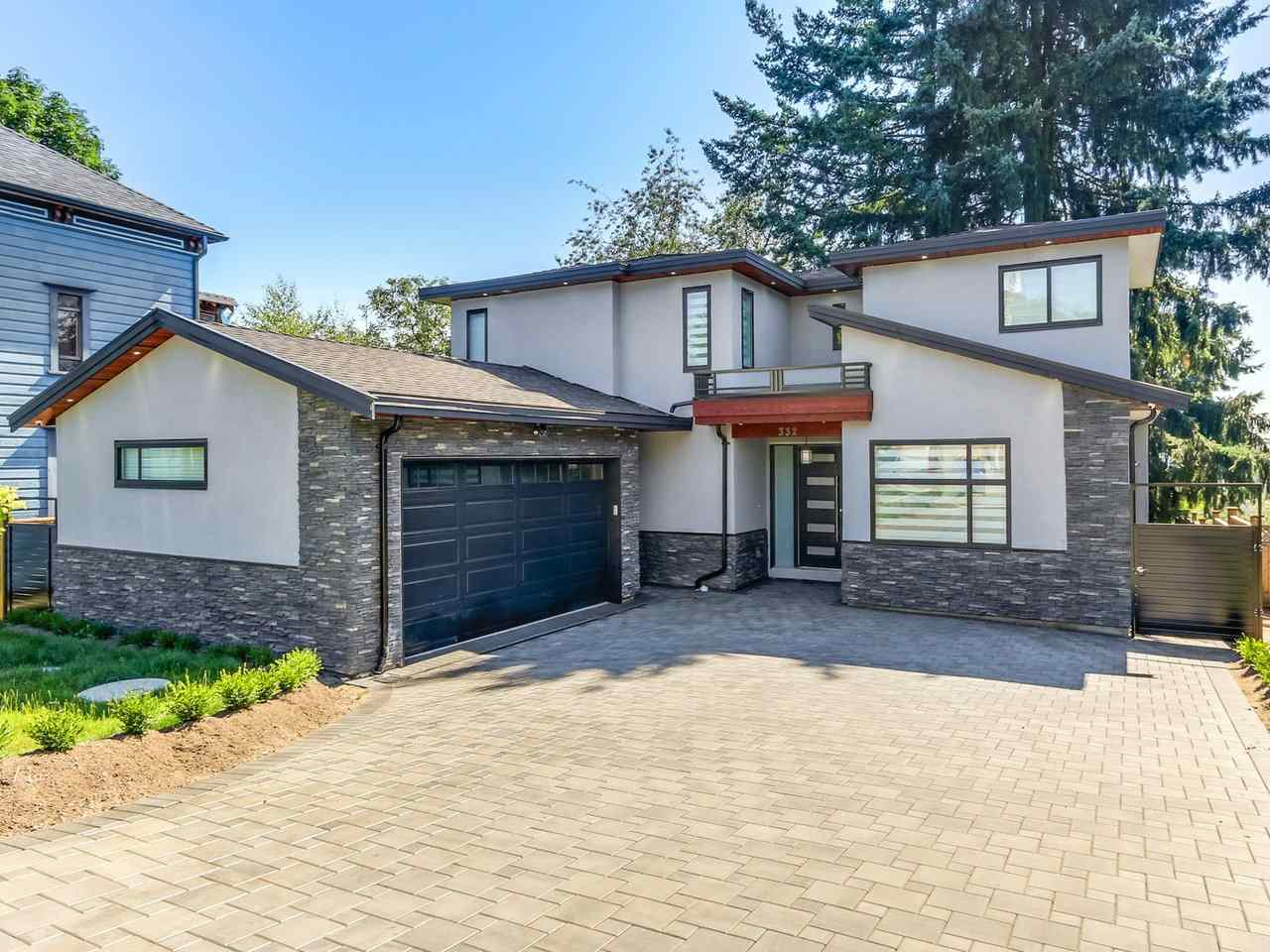 This gorgeous 2800 Sq ft plus 549sq ft crawl space, custom built luxury home is in the Brow of the Hill and sits on a 5500 sq ft treed, fenced lot and has 4 Bdrms & Baths & den, a 1 bdrm registered suite with separate laundry and entry. High ceilings on main, gorgeous gourmet kitchen with quartz counters, white maple cabinets, high quality engineered hardwood floors, top of the line SS appliances, gas stove, wine cooler, island which opens to spacious dinning, great room and den. You will enjoy the elec fireplace, AC, Hvac, 4 zone hot water heat, security camera & lighting, double garage and back up generator. Double car garage with power, mud/laundry room, and much more. 2-5-10 Warranty,