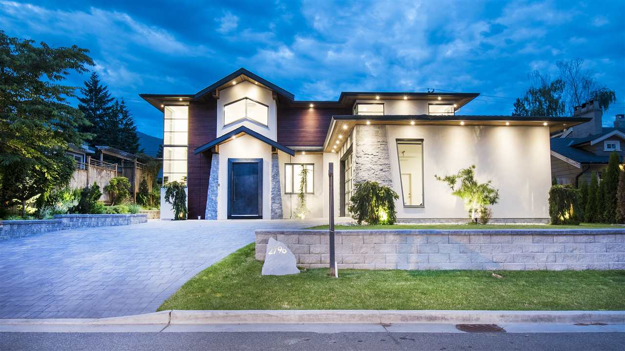 Undoubtedly one of Edgemont Village?s finest homes finished in 2017 is this spectacular custom built, one of a kind residence boasting ultra high end finishes throughout!  An impressive entry door leads you into an open main floor offering a chef?s kitchen with Sub Zero and Wolf Appliances, wide plank oak floors and large eclipse door to a level backyard and patio complete with outdoor fireplace and TV.  Attention to detail is evident throughout this 6 bedroom, 6 bath home with a floating feature staircase, luxurious bathrooms, designer light fixtures smart home system and back generator.  A stone?s throw from Village shops, and short stroll to Highlands Elementary complete this true dream home with No GST.