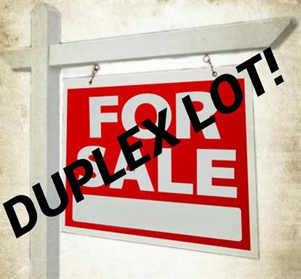 DUPLEX LOT! ATTENTION BUILDERS, DEVELOPERS, INVESTORS! LEGAL R.S. DUPLEX LOT. Survey Available. This property is lot value, the home on the property is un-livable. Great location, for anyone looking to build. Full service lot with a combined sanitary storm sewer connection. Seller will look at offers immediately.