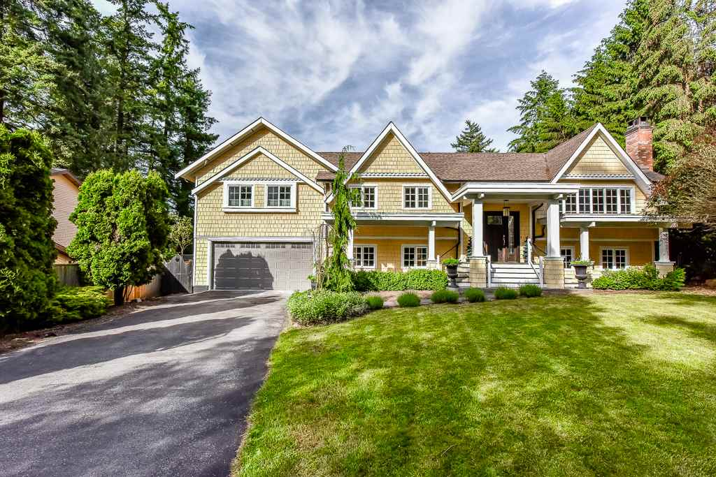 ELGIN CREEK ESTATES, exclusive cul-de-sac location in an area of estate size homes. DESIRABLE BASEMENT ENTRY HOME of 4,304SF on 23,087SF property. Hardwood flooring at main level. 1,556SF addition done in 2013 includes Master ensuite plus 2 bedrooms, 1 bathroom, 1 playroom, roof, balcony and backyard concrete patio, fence, landscape & playground and separate hot water tank and furnace. GOURMET KITCHEN with newer appliances. Bright and spacious. Enough room to accommodate a big family. Easy access to Hwy 99, US border. Excellent school catchment Elgin Park Secondary and Chantrell Elementary. MAKE IT YOUR NEW DREAM HOME...