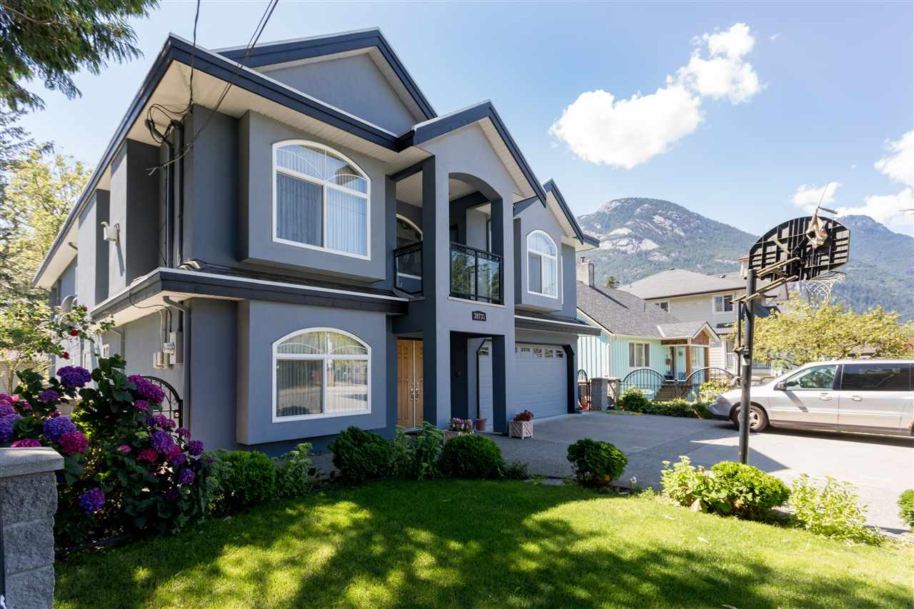 A prime opportunity to invest in one of the fastest growing communities in Canada. Located in Squamish this 7 bed/6 bath home is walking distance to the downtown area. The main living area consists of a 2 story open foyer leading up a grand staircase to 4 bedrooms, 3 full bathrooms and a beautiful kitchen that opens to the family room. No shortage of entertaining space in the dining room and separate living room. Below there is a large den and another full bathroom. There is a 2 bedroom rental suite that is a perfect mortgage helper or in-law suite. There is also an option for another easy 1 bedroom suite conversion if desired. Freshly painted, private backyard and steps away from an elementary and high school.A must see!