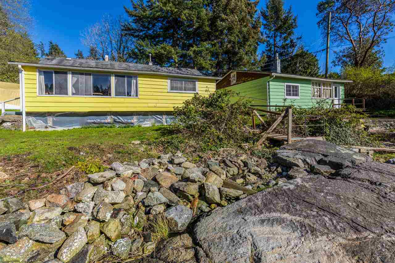 Enjoy this perfect summertime retreat with over 100' of protected level waterfront in Halfmoon Bay. The two older cottages are of little value but are good accommodation while you contemplate the design of your new home. Take a pleasant walk to the historic Halfmoon Bay store and Government wharf or simply relax to our coastal lifestyle. Professionally installed 10' x 20' float and ramp with foreshore lease in place. Call us today to book your appointment.