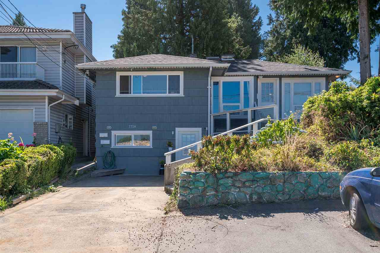 Looking for a great holding property? This charming, fully renovated (over $300K spent) home sits on a huge 8,364 sq.ft lot. The owner has spared no expense, completely renovating the entire property! New electrical, plumbing, drywall, windows, etc. The main level suite is a 4 bdrm (den used as bedroom), 1 bath, with a sunken living room leading to the patio. Below is a 2 bdrm, 1 bath suite with high ceilings. At the rear of the property is the funky ?cottage? with lofted sleeping area, gas fireplace and full kitchen/bathroom. Contained in one of the outbuildings is the shared laundry, and the second is set up for a dog grooming business. (currently storage) Enjoy the HUGE rooftop deck with mountain views, a truly unique property.