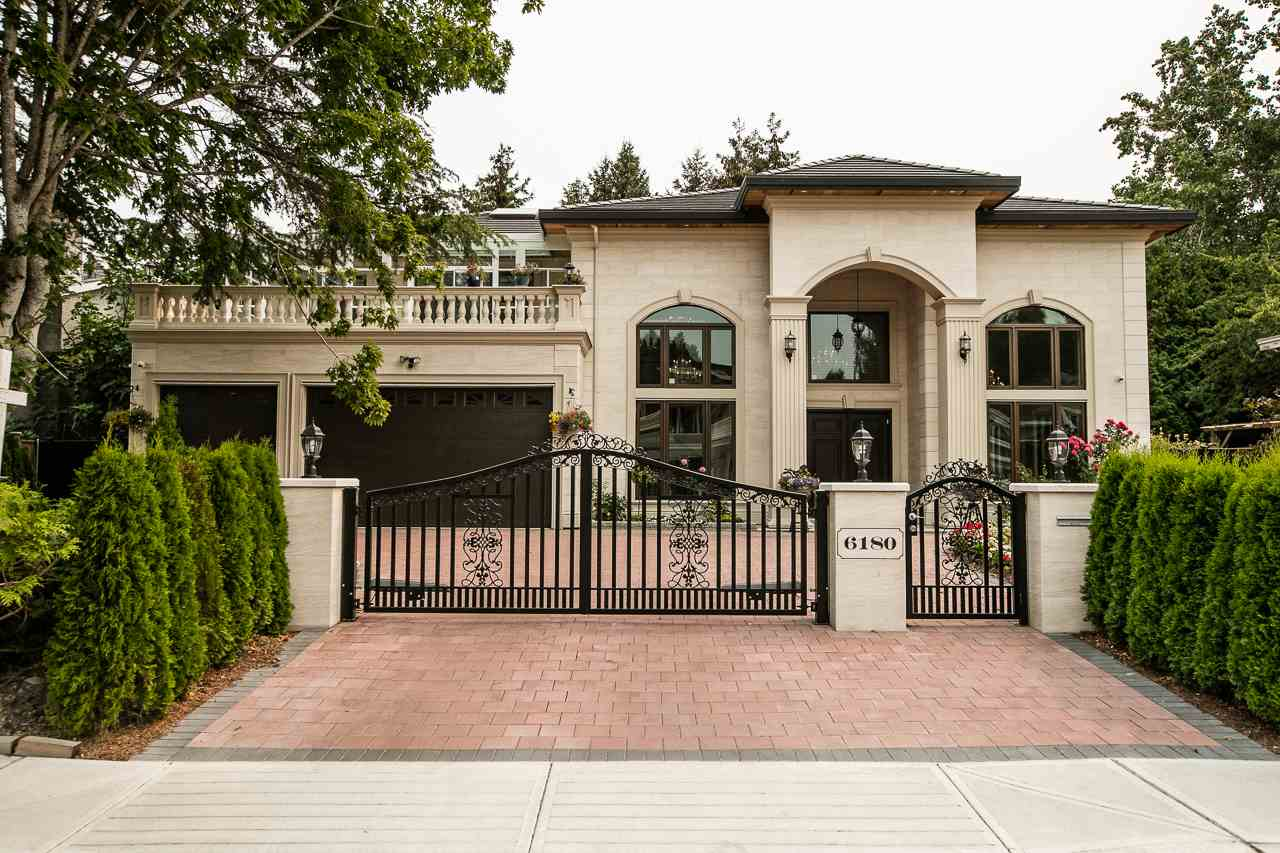 Attention!! New custom built house in prestigious neighbourhood Riverdale, offers open & spacious living area of 4032 SF, 18' high ceiling, marble & laminate flooring on main floor, HW floor for stairs, chef's kitchen w/ appliance MIELE, home theatre w/ karaoke & wine cellar, 1 legal suite (w/ living, kitchen & full bath, 409 SF). 4 ensuite bdrms upstairs. Features: HRV, central vacuum, radiant, smart home control system, sound system(in/out), security system, smoke system, 2-5-10 NHW & much more. Just steps to James Thompson Elementary, park & transit. 5-10 mins drive to Save-on-foods, banks, cafe, services, Spul'uKwuks Elem., Dkye trail, Burnett Sec., Thompson community centre, Richmond shopping centre, skytrain station & any retails/services on No.3 Rd & etc. Act quick.