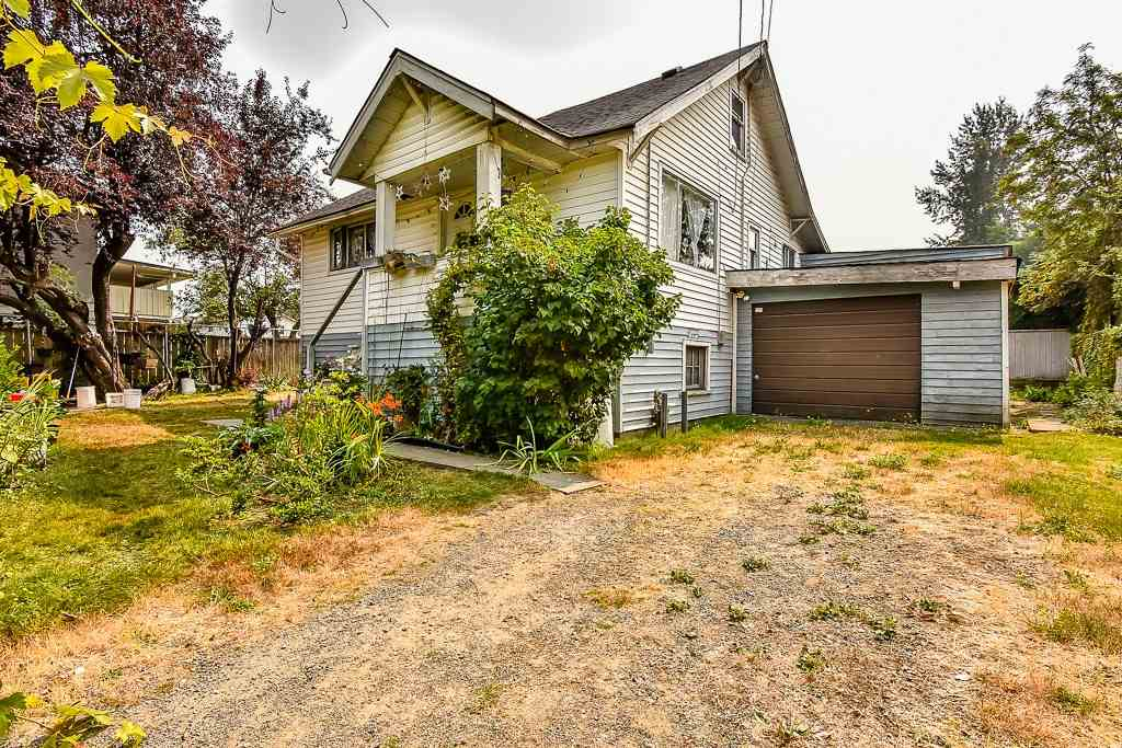 Rustic and Original. Master bedroom on main floor. 2 attic bedrooms. Partially remodelled kitchen and eating area leads onto rear sundeck. Basement has laundry room and 4th bedroom. Fully fenced yard. Great location, walk to Skytrain station. Ample car parking.