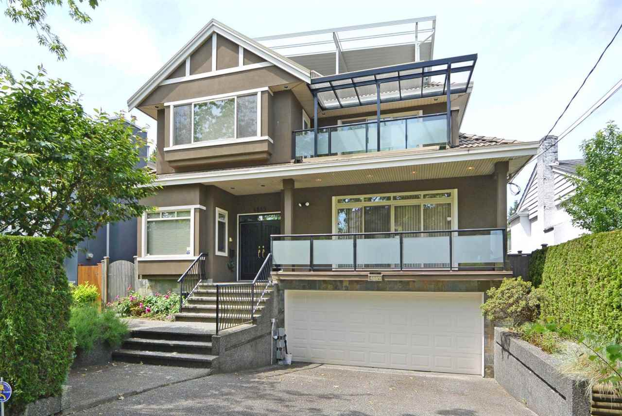 Well kept custom built home in the prime Mackenzie Heights area sits on a 47.8' x 118.7' (5,674 sq ft) lot. The current owner spent over $130K in updates since 2013 including NEW: paint throughout, engineered hardwood floor, faucets, enlarged covered rooftop deck, high efficiency furnace & upgraded A/C unit. This over 3,300 sq ft home features 9' ceilings, spacious living, dining & family rms plus den on main, gourmet kitchen w/ wok kit, A/C, HRV & heated driveway. Upstairs with 4 bdrms & 3 full baths. The covered rooftop deck w/ fabulous MOUNTAIN & WATER VIEW! Basement features a large rec room w/ wet bar & 2 bdrms. 2 car attached garage, private fenced yard. Trafalgar Elem  & Prince of Wales Sec School Catchments. Close to Little Flower, York House, Crofton & St Georges private schools.