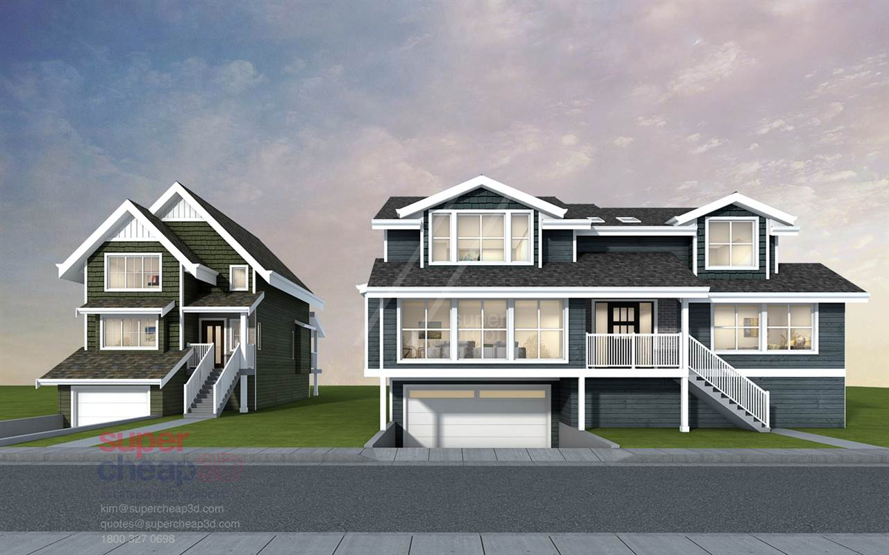 Similar to this design by award winning designer - or - your own customized home designed by our architect to suit Your Requirements. - 3 bedrooms, 3 bathrooms, 1661 sq ft plus basement Convenient location - Private no thru road with easy access to major routes Near Elementary School, local shops, Coquitlam Centre and Evergreen skytrain to Vancouver. Many amenities close by - Coquitlam river, Parks with walking trails and playing fields for sports and recreation.