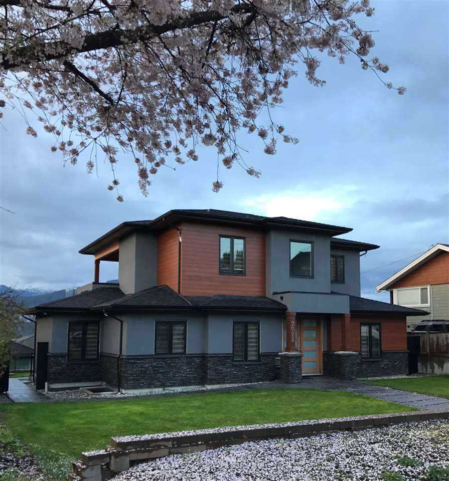 Beautiful,contemporary house w/great view of North Shore &Burrard Inlet. South facing 60x120 lot in quiet, desirable Westridge N Bby. 7 bdrms and 6 baths, built for owner w/ extra care and attention to detail, no expense spared. Open concept, top of line s/s appliances. 10? ceiling on upper level w/ large covered deck. State of the art HVAC, electrical and security systems. High efficiency German made Viessman hot water boiler, 4.5 ton Goodman A/C unit, HRV system, air filtration and fresh air supply, Central Vac,8 camera HD 1080p CCTV security camera system with night vision.2 bsmt rental suites w/ separate entries & in-suite laundry sets. Approx.$2,200. Close to SFU, Bby North Sec School and Bby Mountain Golf Course, 20 min to downtown. Measurements are approx.buyer to verify.Must see!
