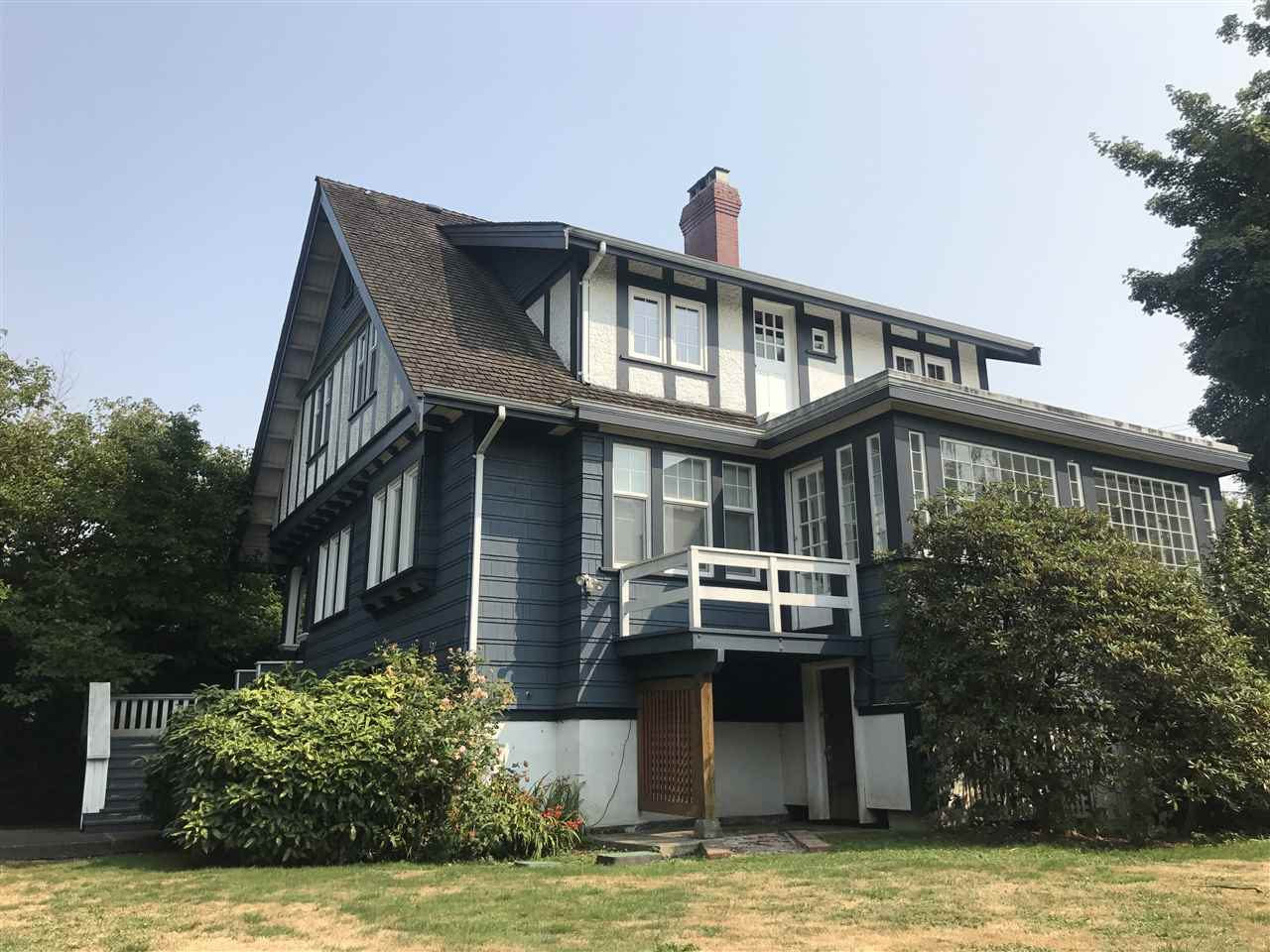 Massive 115' X 125' lot over 14,000 sq.ft. in the heart of prestigious First Shaughnessy! Best value priced under assessment value. Spacious house boosting 4,700 sq.ft living space with 7 bedrooms. Self-contained basement with separate entrance. Treelined private yard and triple garage. Perfect location with shopping, park, church, and recreation nearby. 10 minutes to UBC & 5 minutes to downtown. Perfect for investment and re-built/ renovation projects! School catchment: Shaughnessy Elementary, Prince of Wales Secondary