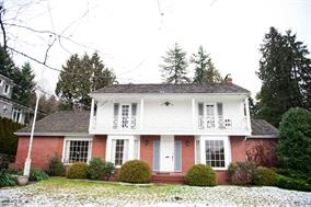 A magnificent sun drenched colonial estate nestled in the heart of Ambleside. Steps to West Vancouver Secondary School and Community Centre. Offering nearly a 1/3 of an acre of magical gardens, lawns, water views and private pool side setting, all backing onto the gentle sounds of MacDonald Creek. A level lot with 80' of frontage. This home offers approx. 3600 sqft on 3 levels with new flooring. An incredible opportunity to add your personal touch to this gracious family home in an absolutely stunning location! Potential of an ocean view on the upper deck!