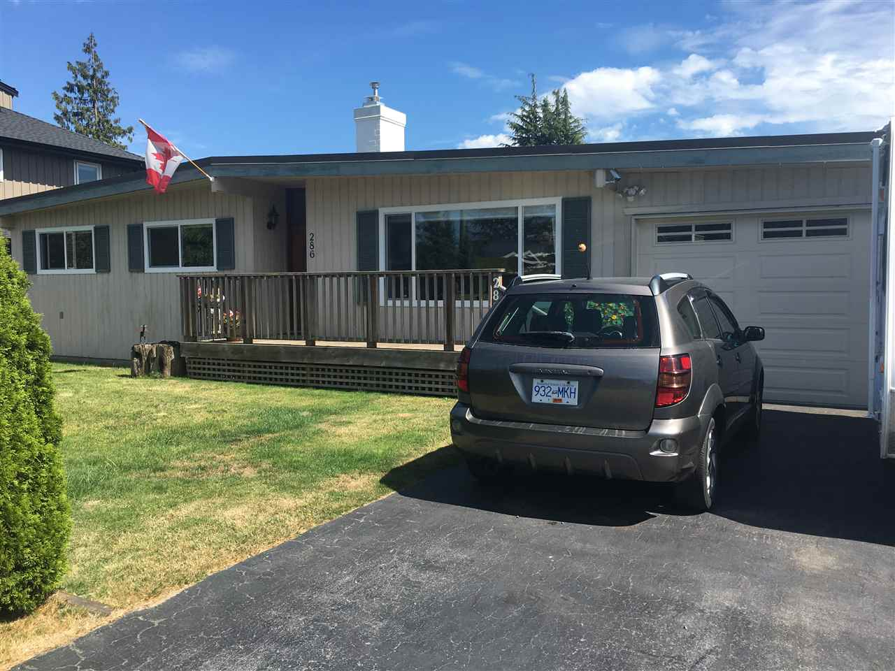 Welcome to Boundary Bay! Beautifully renovated Rancher on a large (75' X 100'), south exposed beautifully landscaped & sunny property with fruit trees, vegetable beds and a garden shed (with ski-lites) and a large covered porch. This home features 3 bedrooms, 2 new full bathrooms, a new kitchen with a ski-lite, a double garage, newer vinyl windows and a new sunroom. 4 parking aside from the double garage. Just steps from Centennial Beach, nature trails.